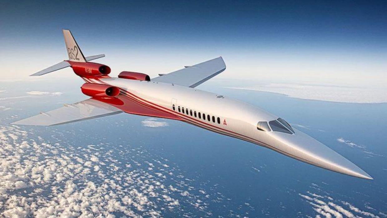 Empresa está lançando avião supersônico 3 vezes mais rápido que o Concorde.
